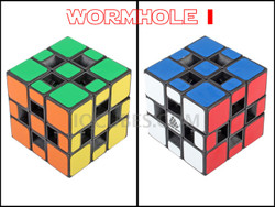 IN-OUT WORM HOLE 3x3x3 IQ Cube (IQBG008900) by IQCUBES.COM