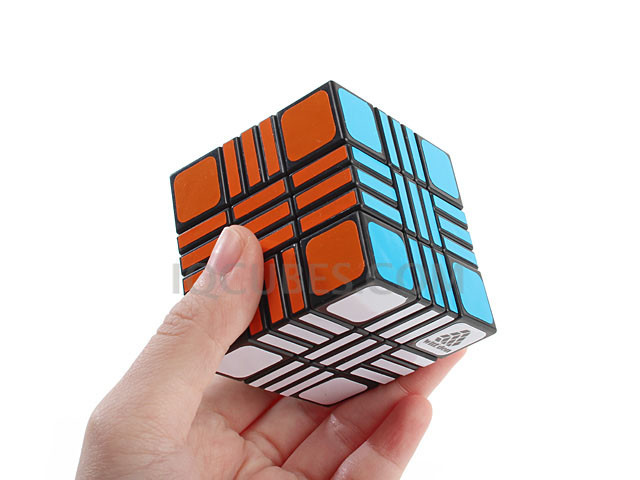Cross Cubic 5x5x5 UnEven IQ Brick (IQBG007900) by IQCUBES.COM