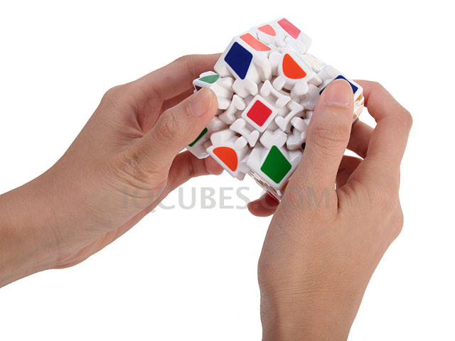 3D GEAR WHEEL IQ Cube (IQBG005000) by IQCUBES.COM