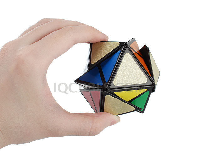 The Square 4-Axis IQ Dodecahedron (IQBG010900) by IQCUBES.COM