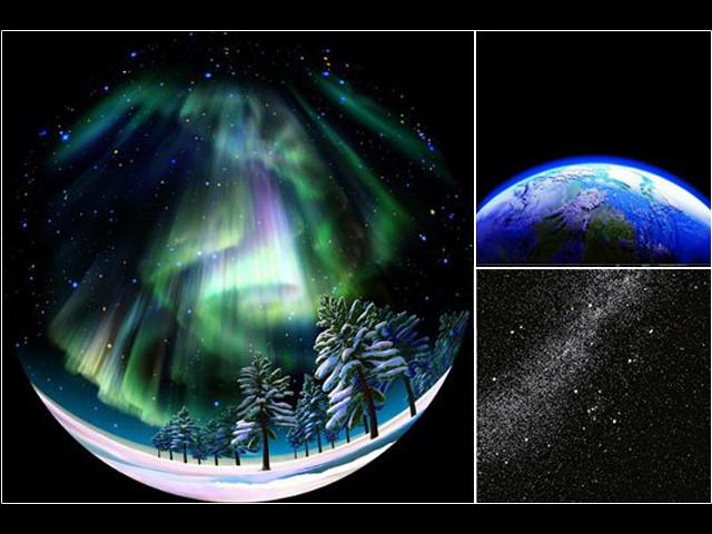 Sega Homestar Pro planetarium Aurora disc