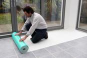 Hard Floor Protection Premium Self-Adhesive Fleece 100cm x 25m or 50m - Select Your Size