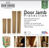 "Board Heavy-Duty Door Jamb Protection - 36"" and 60"""