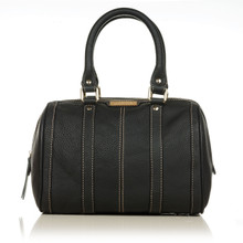 aretha 141011 Leather top handle bag black