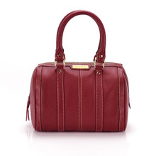 aretha 141011 Leather top handle bag red