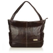 aretha 141131 Genuine Leather shoulder bag coffee