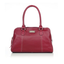 aretha 141191 Genuine Leather shoulder bag red