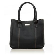 aretha 141241 Genuine Leather shoulder bag black