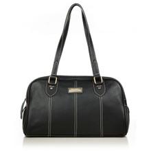 aretha 141281 Genuine Leather shoulder bag black