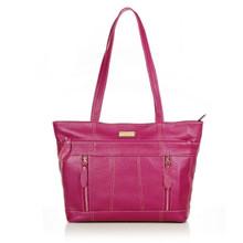 aretha 141291 Genuine Leather shoulder bag purple