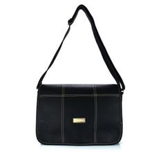 aretha 142031 Genuine Leather crossbody bags black