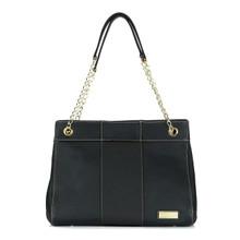 aretha 151031 Genuine Leather shoulder bag black