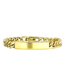 aretha BR70406-19 316L Stainless Steel Bracelet gold