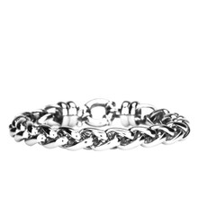 aretha MOBR395A-20-5 316L Stainless Steel Bracelet silver