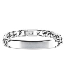aretha BR50406-21 316L Stainless Steel Bracelet silver