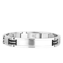 aretha BR50448-21 316L Stainless Steel Bracelet silver