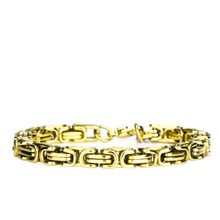 aretha BR70361-21 316L Stainless Steel Bracelet gold