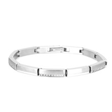 aretha BR53167-19 316L Stainless Steel Bracelet silver
