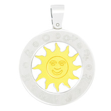 aretha P60094 316L Stainless Steel Pendant silver