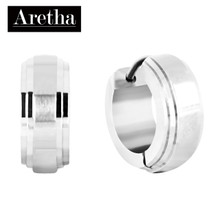 aretha ER52136 316L Stainless Steel Earrings silver