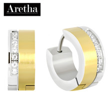 aretha ER62154 316L Stainless Steel Earrings gold