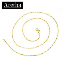 aretha CH72798-50 316L Stainless Steel Necklace gold