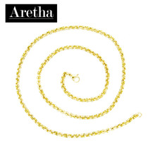 aretha CH72796-45 316L Stainless Steel Necklace gold