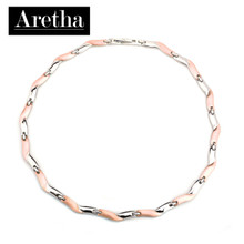 aretha CH81008-42+3 316L Stainless Steel Necklace rose gold