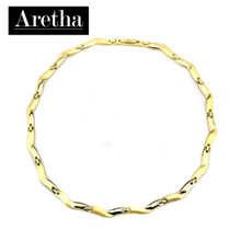 aretha CH71008-42+3 316L Stainless Steel Necklace gold