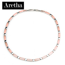 aretha CH83164-42+3 316L Stainless Steel Necklace rose gold