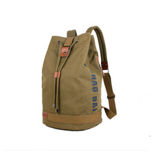 canvas vintage  duffle laptop backpack