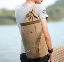 Canvas large men duffle sport backpack