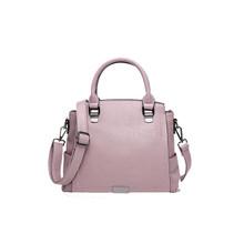 Waterproof Leather women medium shoulder tote handbag cross body purse