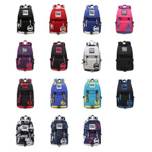 Waterproof Mens Womens Backpack School Bag Laptop Bag Rucksack multi color