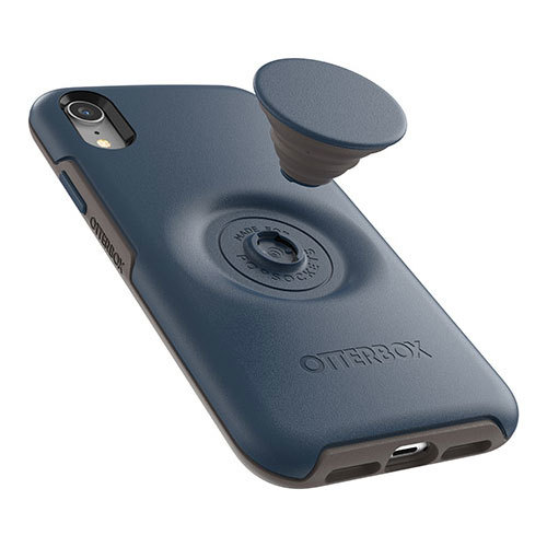 OtterBox Otter + Pop Symmetry Case iPhone XR - Go To Blue