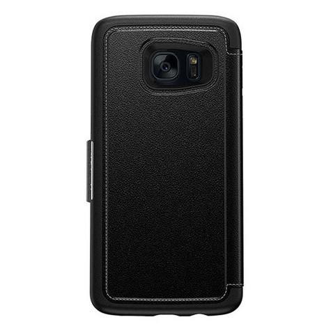 OtterBox Strada Wallet Case Samsung Galaxy S7 Edge - Black