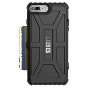 UAG Trooper Card Wallet Case iPhone 7+/6+/6S+ Plus - Black