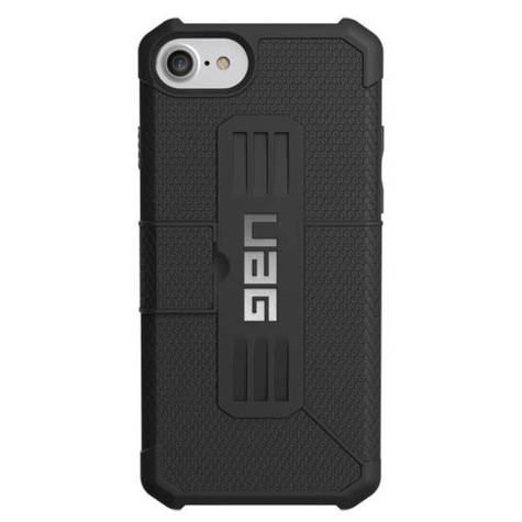 UAG Metropolis Folio Wallet Case iPhone 7/6/6S - Black