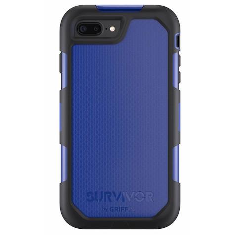 low priced 3ccf0 09376 Griffin Survivor Summit Case iPhone 7+ Plus - Black/Blue