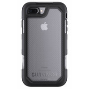 Griffin Survivor Summit Case iPhone 7+ Plus - Black/Clear