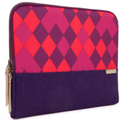 "STM Grace 15"" Laptop Sleeve - Purple Diamonds"