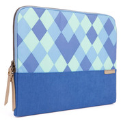 "STM Grace 15"" Laptop Sleeve - Blue Diamonds"
