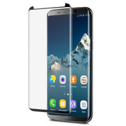 EFM Curved Tempered Glass Screen Armour Samsung Galaxy S8 - Black Frame