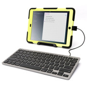 Griffin Wired Keyboard for Lightning iPads - Grey
