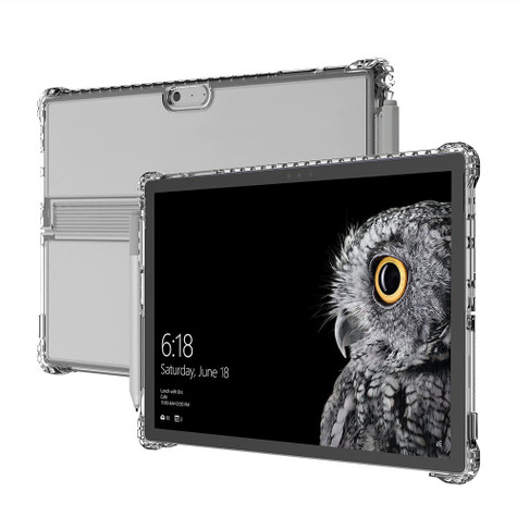 buy online 34b9c a19b8 Incipio Octane Pure Case Microsoft Surface Pro 6/Pro 5/Pro 4 - Clear