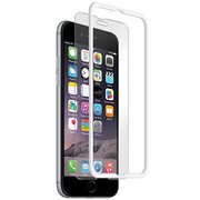 BodyGuardz Pure with The Crown Tempered Glass iPhone 6+/6S+ Plus - White
