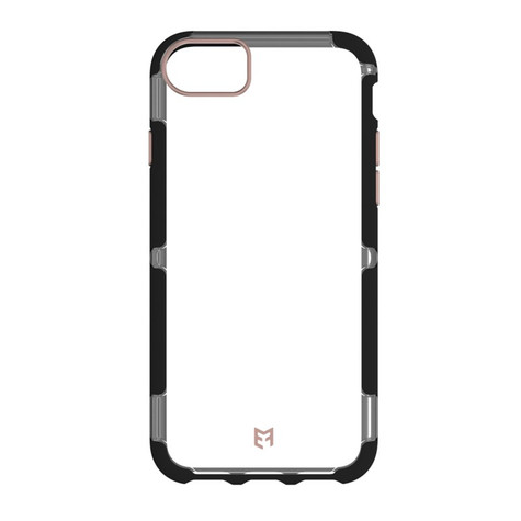EFM Cayman D3O Case Armour iPhone 8/7/6/6S - Crystal/Black