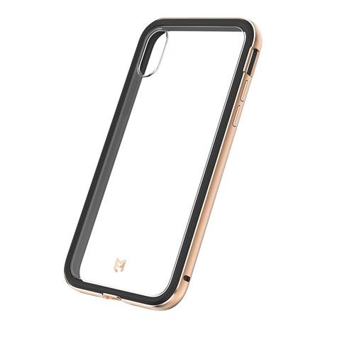 EFM Verona Case Armour with D3O iPhone X - Black/Copper