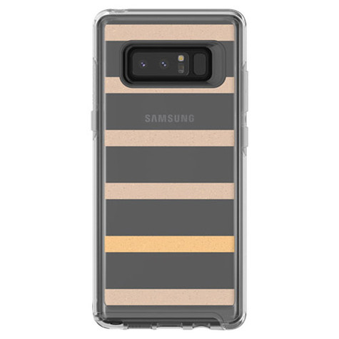 the best attitude f92b5 9daee OtterBox Symmetry Clear Case Samsung Galaxy Note 8 - Inside the lines