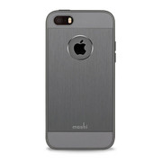 Moshi iGlaze Armour Case iPhone 5/5S/SE - Gunmetal Grey